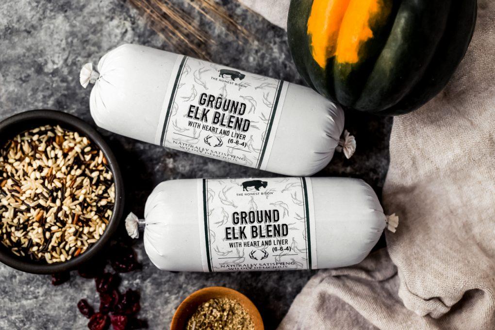ingredients to make ground elk stuffed acorn squash